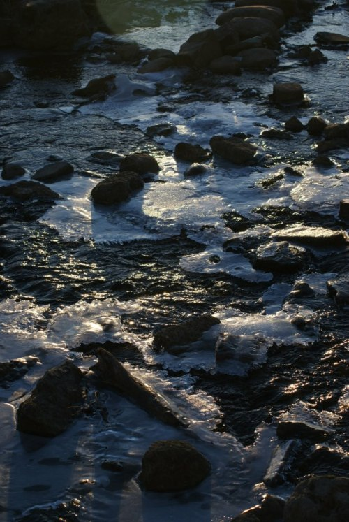 Snow, Rocks, and Light