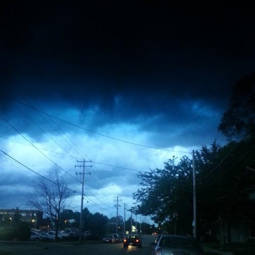 Threatening Storm