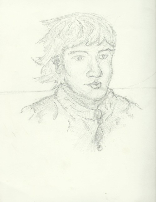 Kevin's Drawing of a Boy