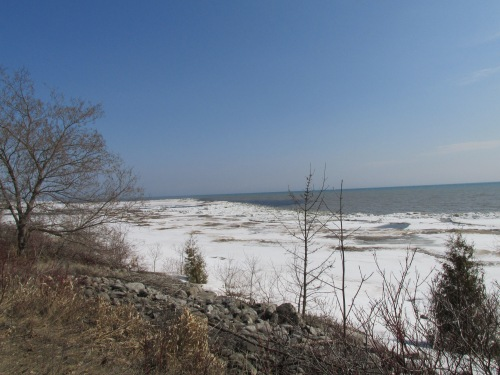Coming of Spring on Lake Michigan