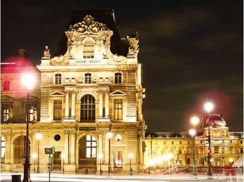 Louvre at Dusk November 15, 2008