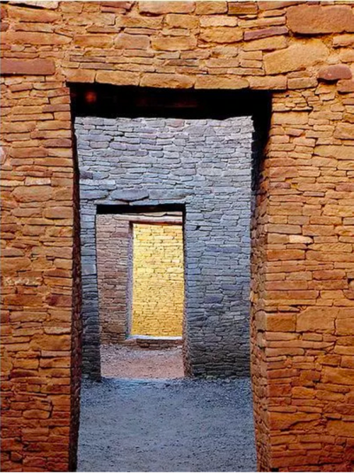 Doorways at Chaco Canyon
